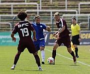 Testspiel BFC Dynamo - SPVG Blau Weiß 90 ,