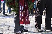 29.Spieltag BSG Chemie Leipzig - BFC Dynamo , Mike Polley Trauermarsch